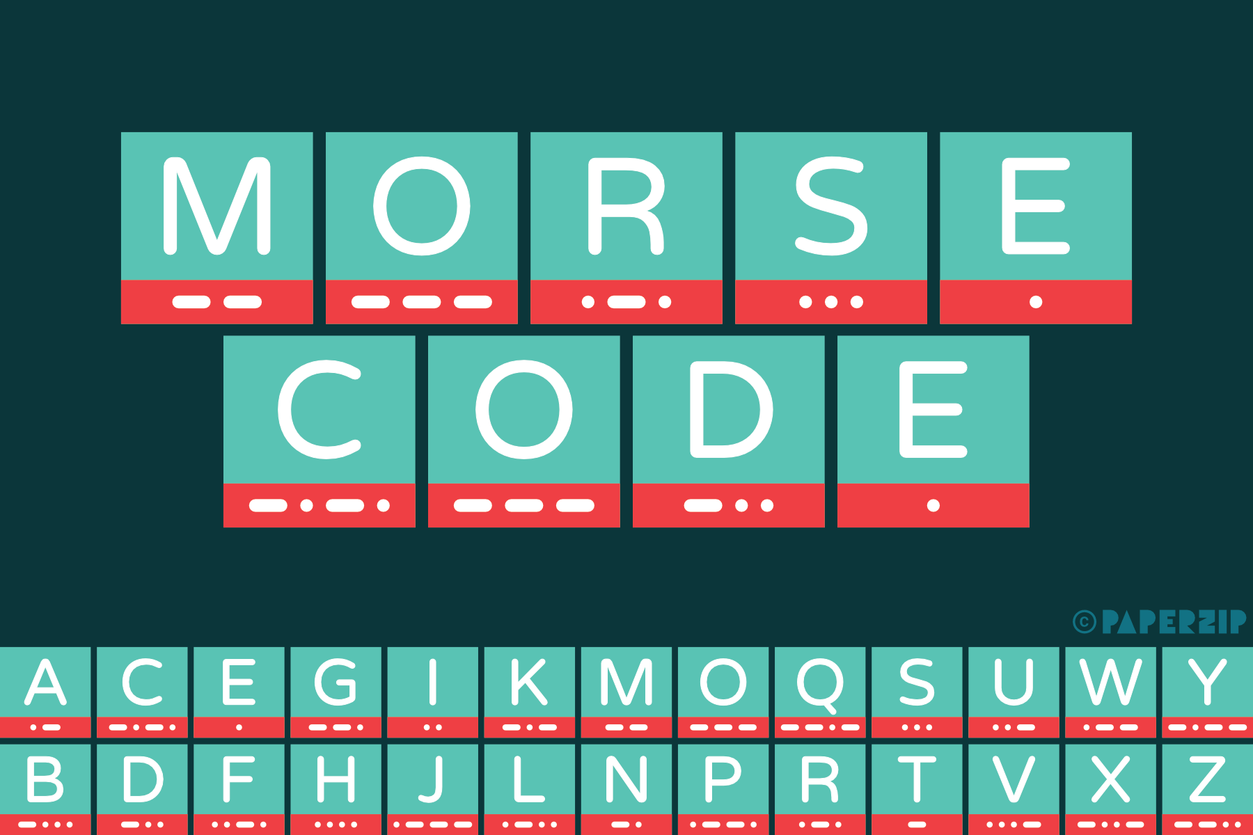 free printable morse code alphabet for classroom display