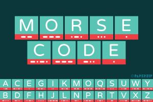 free printable morse code alphabet for classroom display