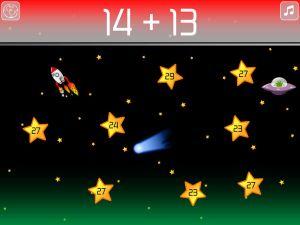 math blast mental arithmetic game collect stars