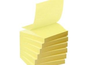 Paquet de 6 MEMO STICKERS 100 feuillets 76x76 mm Pastel