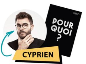 Bloc Notes à élastique Cyprien