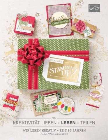 Stampin'Up! Herbst-/Winterkatalog 2018