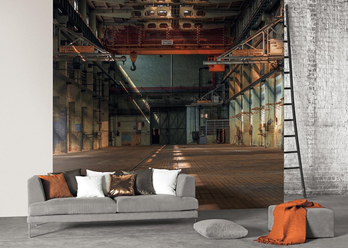 papier peint industriel panoramique