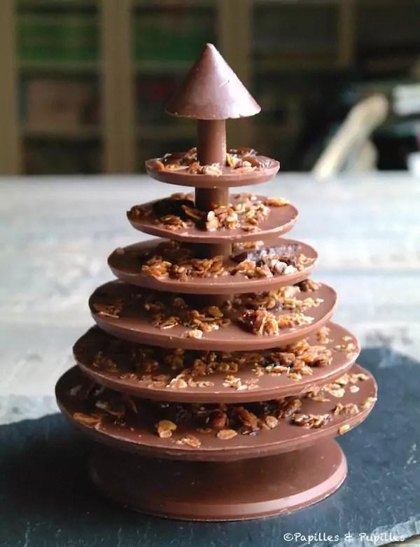 Un Sapin De Nol En Chocolat Sign Alain Ducasse