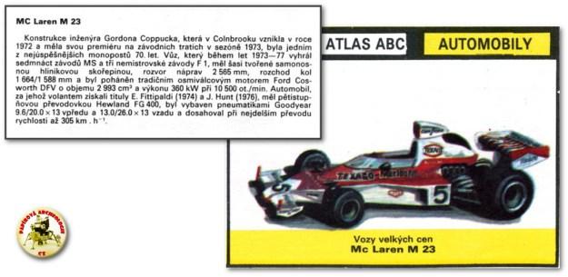 McLaren M 23