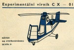 Experimentální vírník CX-01 Chemosvit