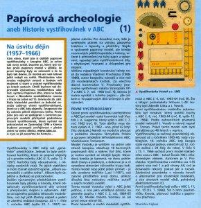 Papírová archeologie v ABC
