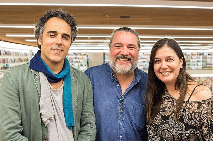 Mozart Mesquita, Marcos Varanda e Karim Scharf | Foto: Paulo Bettio