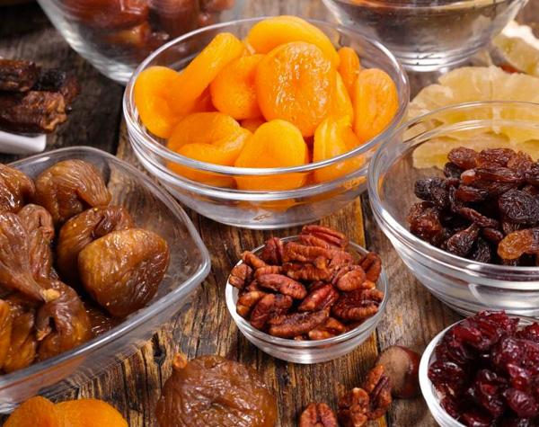 frutas secas lanches papo gula