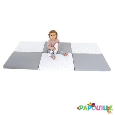 tapis pliable de motricite 180 x 120 x