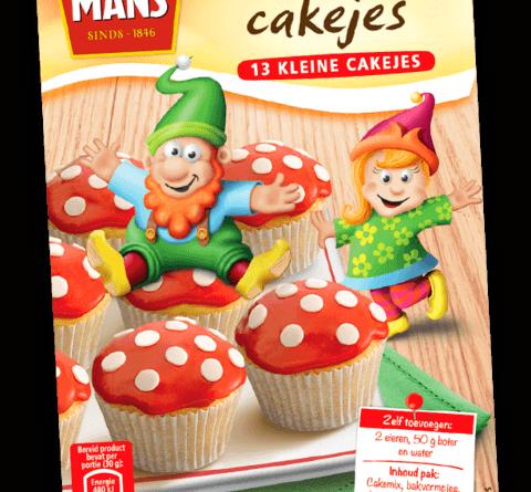 Koopmans paddenstoelen cupcakes