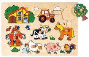 Houten puzzel sinterklaas cadeau