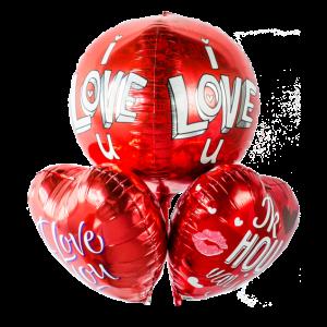 valentijns ballonnen