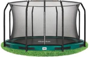 Salte inground trampoline met net