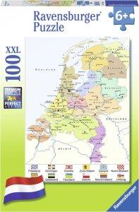 Puzzel van nederland