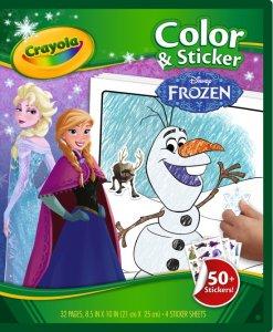 frozen kleurboek 6 jaar