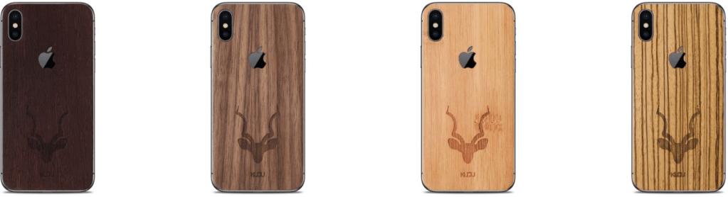 Iphone X hoezen hout kudu