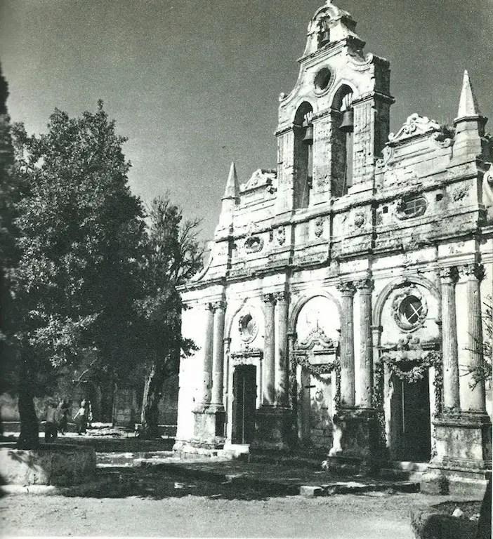 Arkadi Monastery in Rethymnon
