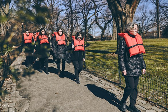 How a Team of New Yorkers Raised Awareness for the European Refugee Crisis