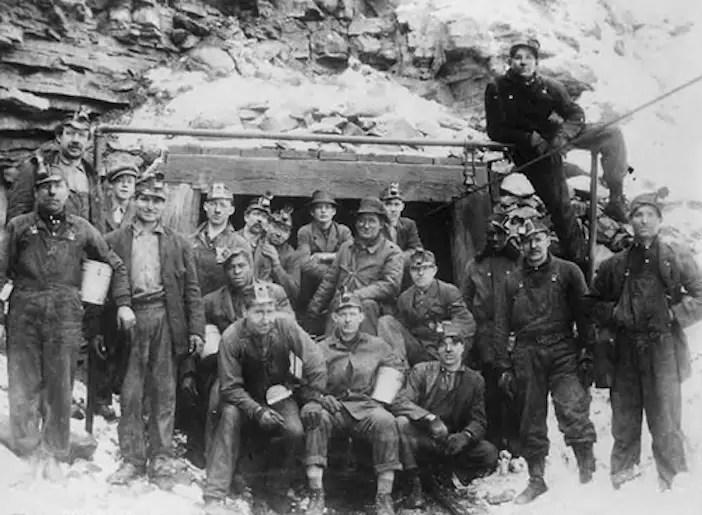 Greek miners