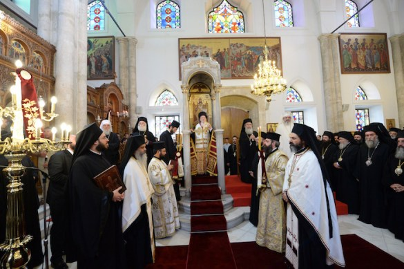 (Photos) Crete Welcomes Orthodox Hierarchs From Throughout the World