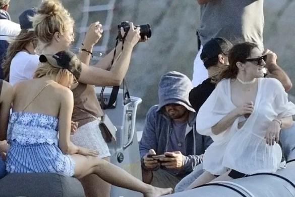 (Video and Photos) Oscar Winner Leonardo DiCaprio Jamming, Mykonos Style