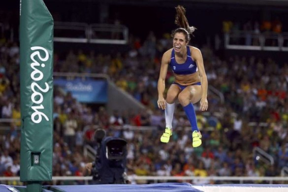 Greece's First Track and Field Gold Since 2004 to Katerina Stefanidi in Pole Vault