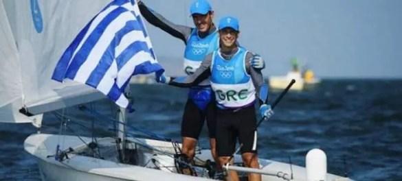 Bronze Medal for Greece's Sailing Duo of Panagiotis Mantis and Pavlos Kagialis