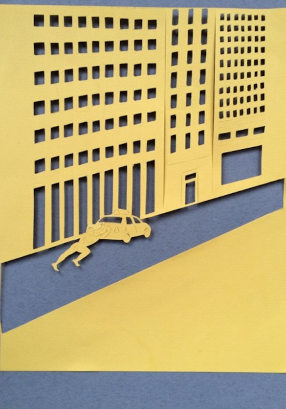 NYC Meets Greek Gods in One Artist's Paper Cutout Series