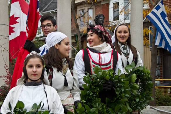 (Photos) Toronto Greeks Celebrate Historic Oxi Day