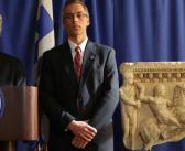 Manhattan District Attorney Returns Stolen Antiquities to Greece