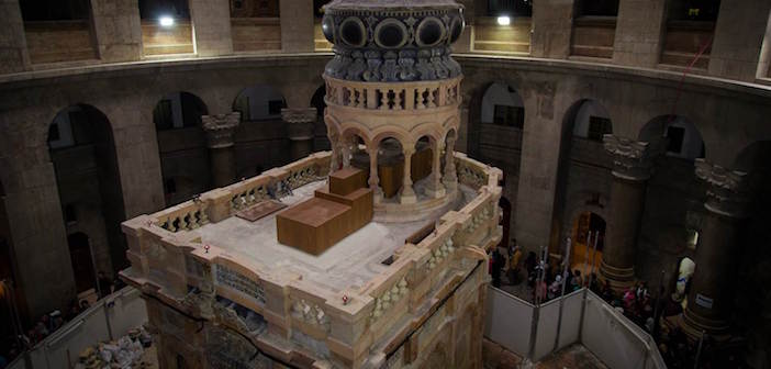 (Video) Tomb of Jesus Is Unveiled After Year-Long Renovation