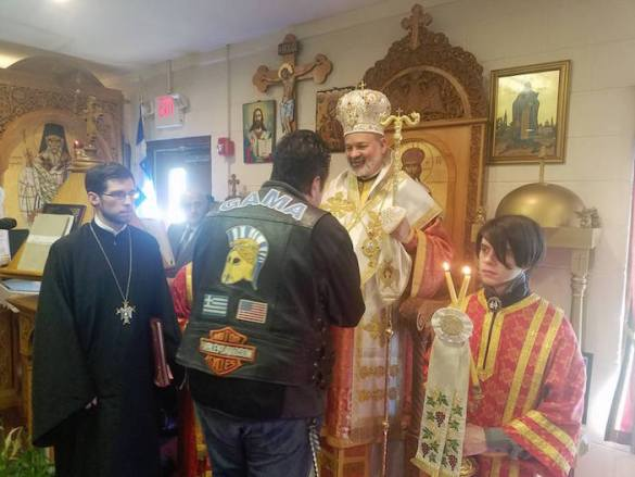 (Photos) Bikers Get their Blessing by Chicago Bishop