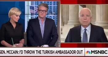"(Video) Sen. John McCain: ""Throw Turkish Ambassador the Hell Out of the United States"""