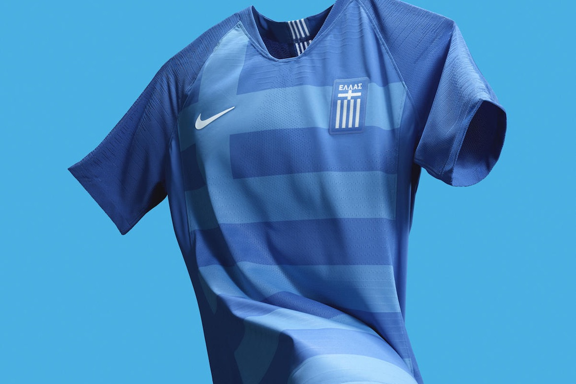 Nike and Greek National Team Releasing New Greece National Football/Soccer  Jersey April 4