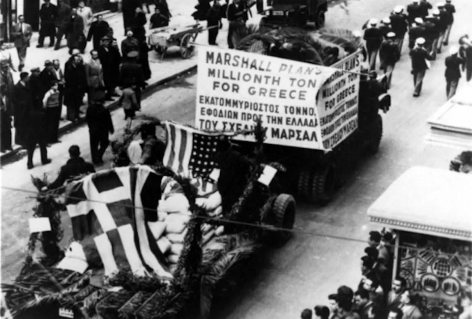 Marshall Plan Greece