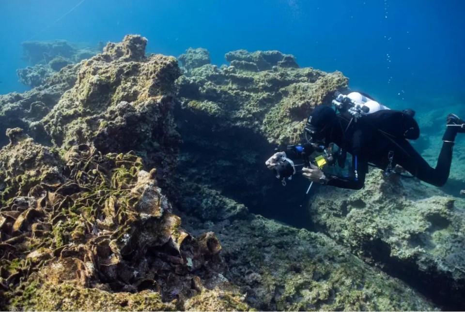 Ancient Shipwreck