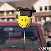 Nakładki na antenę do samochodu, którą można kupić na orientaltrading.com robią wśród am. absolwentów furorę.