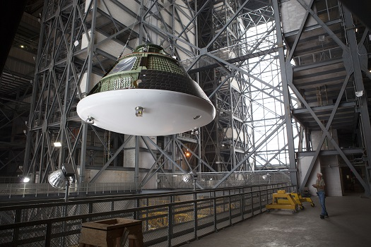 SLS, Orion Year in Review at Parabolic Arc