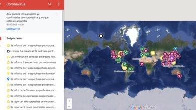 Photo of Google diseñó mapa interactivo inteligente sobre el coronavirus