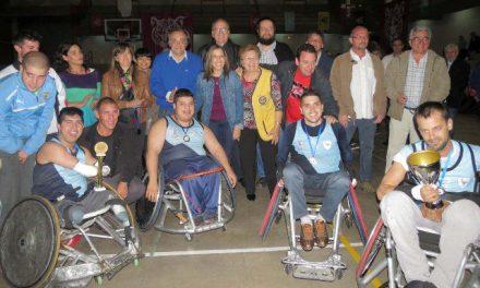 Tigre: Quad rugby en la semana de la inclusión