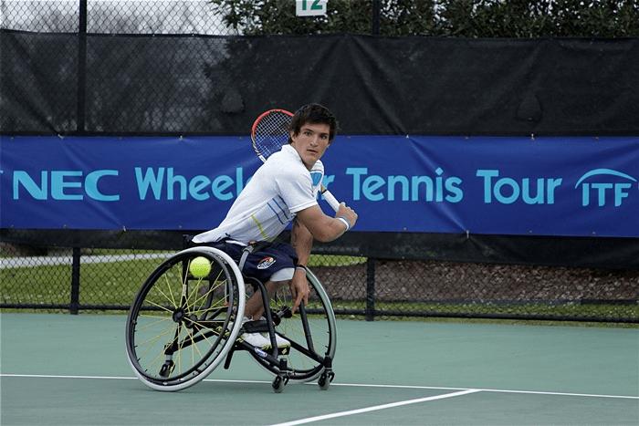 Tenis adaptado: Fernández cayó en semifinales del British Open