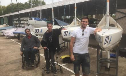 Vela paralímpica: Fernández Ocampo, campeón en San Isidro Labrador