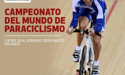 Paraciclismo: Rodrigo López lo hizo de nuevo en el Mundial de Holanda