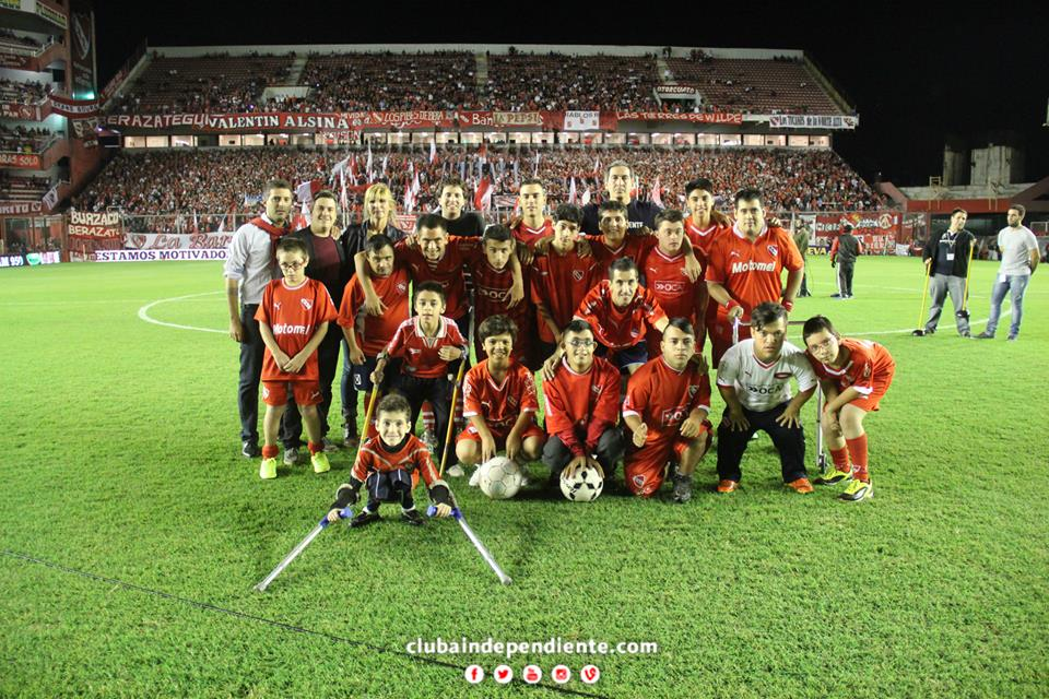 Fútbol por la inclusión en Independiente