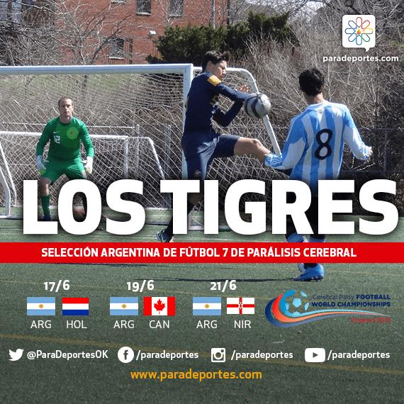 Fútbol 7: Argentina se prepara para el Mundial de Inglaterra