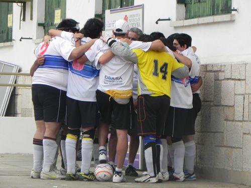 Fútbol para ciegos: Muncipalidad de Córdoba, intratable