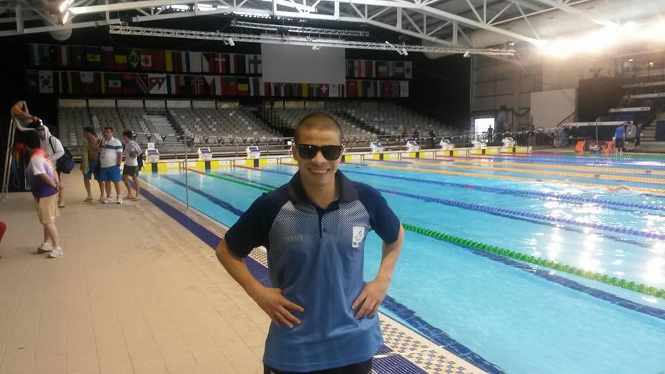 Natación paralímpica: Zayas, sexto en la final de estilo libre en el Mundial de Glasgow