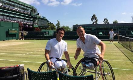 Tenis adaptado: Gustavo Fernández, finalista en Wimbledon
