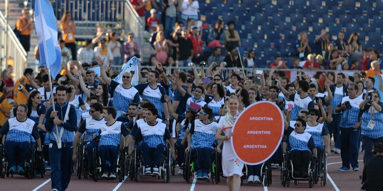 Emoción y color en la ceremonia inaugural de los Juegos Parapanamericanos